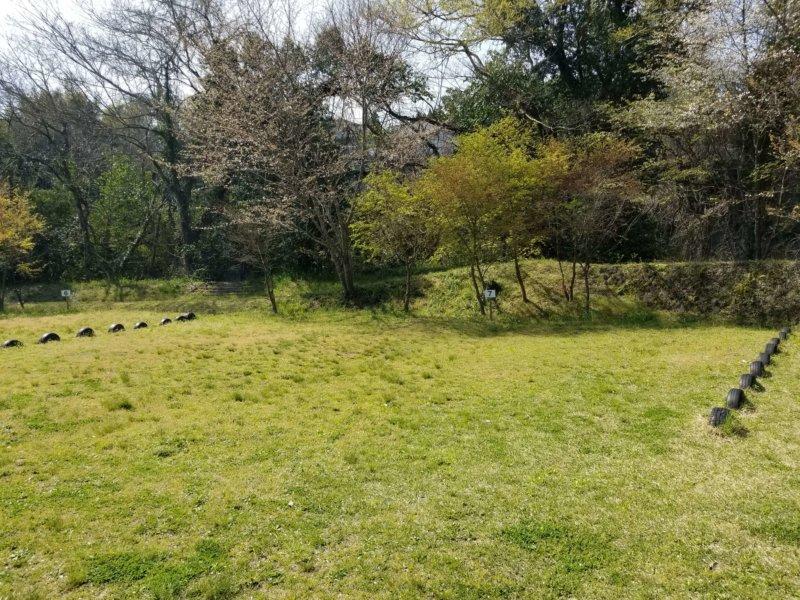 三日月の滝温泉キャンプ場(Aサイト7番)