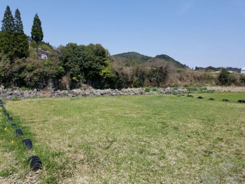 三日月の滝温泉キャンプ場(Bサイト11番)