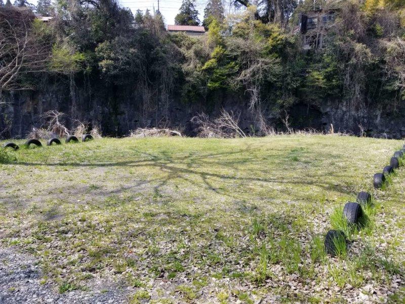 三日月の滝温泉キャンプ場(Bサイト7番)