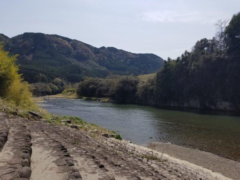 三日月の滝温泉キャンプ場(玖珠川1)