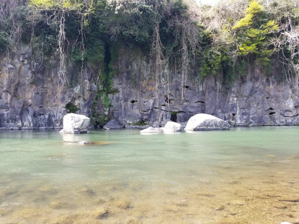 三日月の滝温泉キャンプ場(玖珠川3)