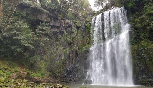 三日月の滝温泉キャンプ場(大分県)-温泉と滝を巡る旅行記