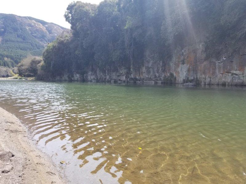 三日月の滝温泉キャンプ場(玖珠川その1)