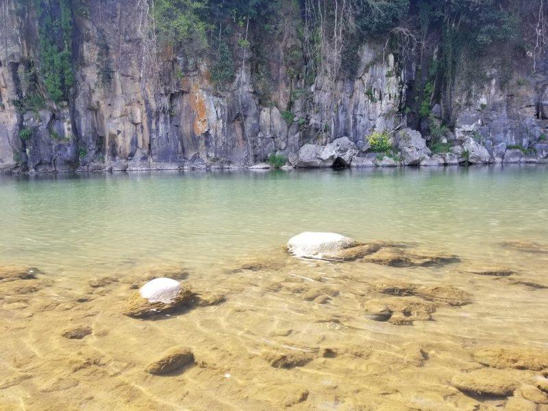 三日月の滝温泉キャンプ場(玖珠川その2)