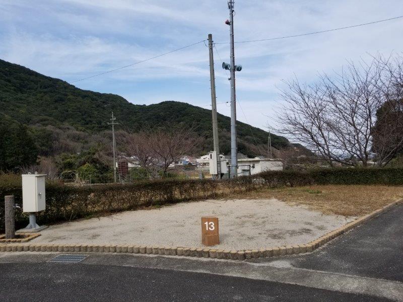 小豆島オートビレッジYOSHIDA(オートサイトの13番サイト)