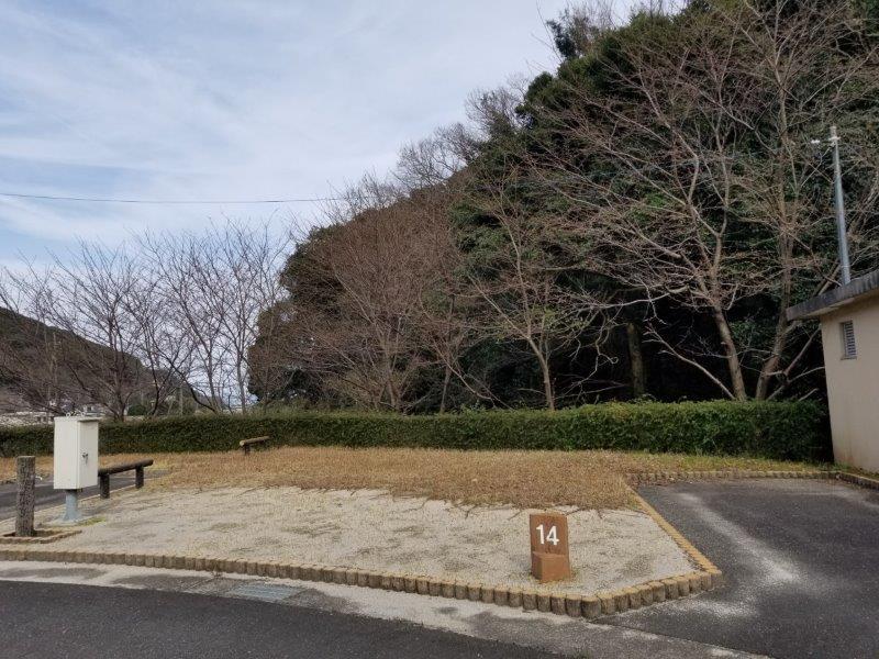 小豆島オートビレッジYOSHIDA(オートサイトの14番サイト)
