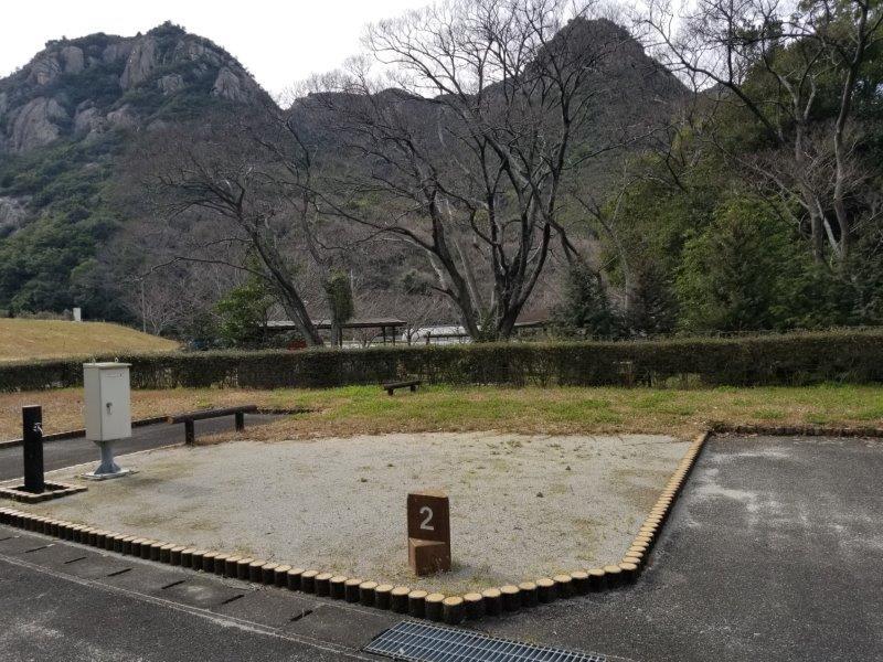 小豆島オートビレッジYOSHIDA(オートサイトの2番サイト)