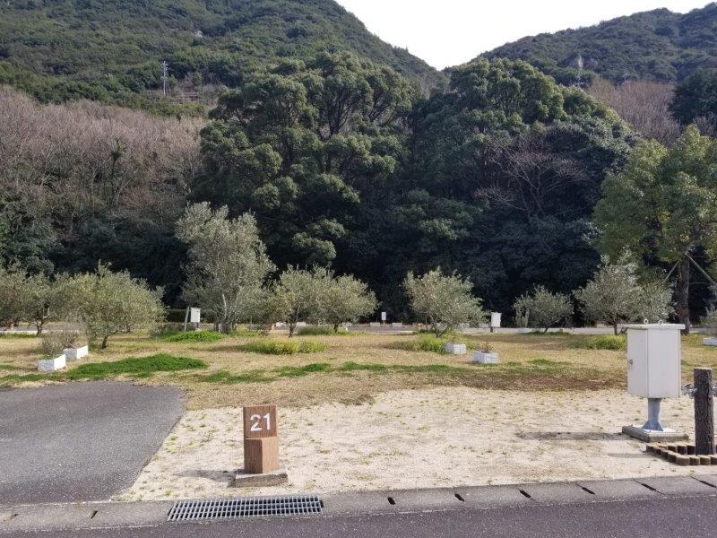 小豆島オートビレッジYOSHIDA(オートサイトの21番サイト)