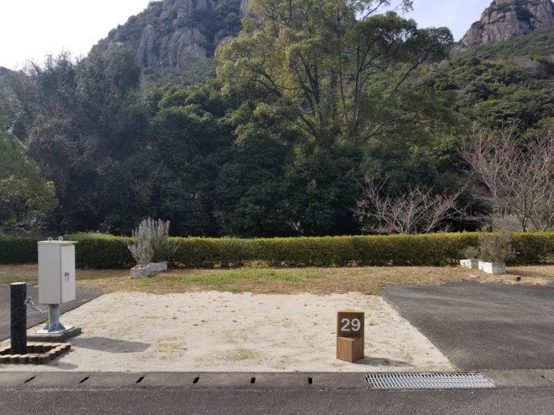 小豆島オートビレッジYOSHIDA(オートサイトの29番サイト)