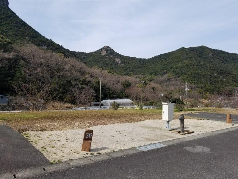 小豆島オートビレッジYOSHIDA(オートサイトの36番サイト)