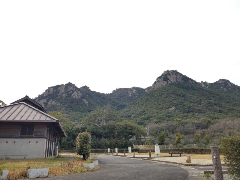 小豆島オートビレッジYOSHIDA(オートサイト13番からの景色)