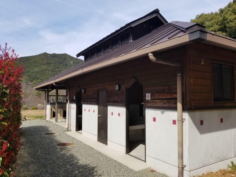 小豆島オートビレッジYOSHIDA(トイレ)