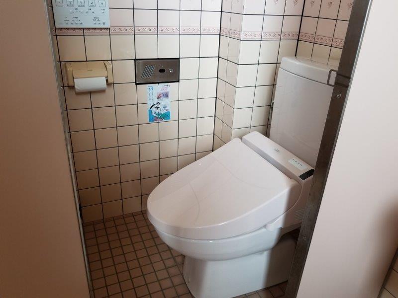 小豆島オートビレッジYOSHIDA(トイレの個室)