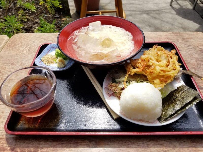 小豆島-こまめ食堂 そうめんセット