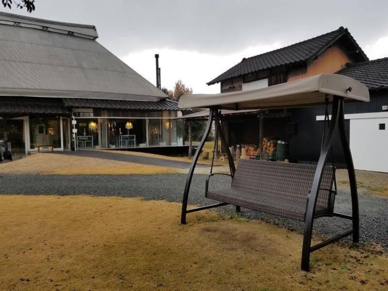 福岡県うきは市 きふねキャンプ場 ベンチ