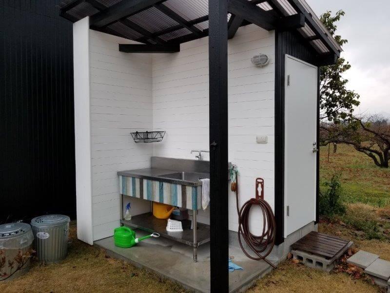 福岡県うきは市 きふねキャンプ場の炊事場