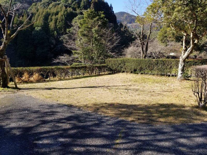 グリーンパル日向神峡 オートサイト15番