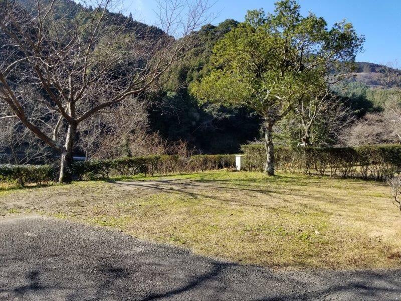 グリーンパル日向神峡 オートサイト16番