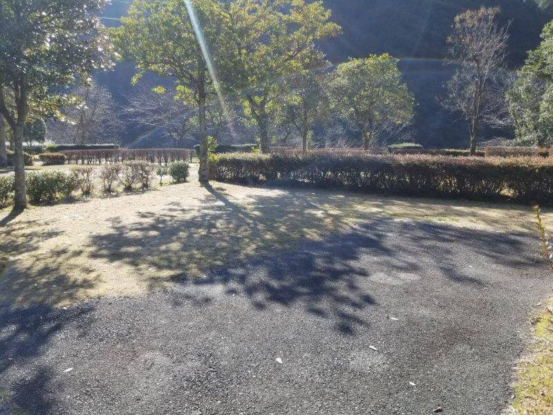 グリーンパル日向神峡 オートサイト17番