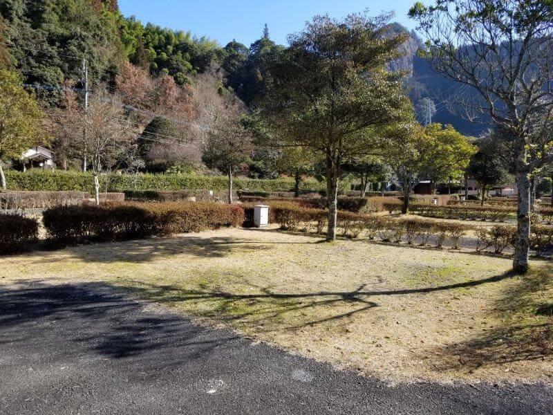 グリーンパル日向神峡 オートサイト21番
