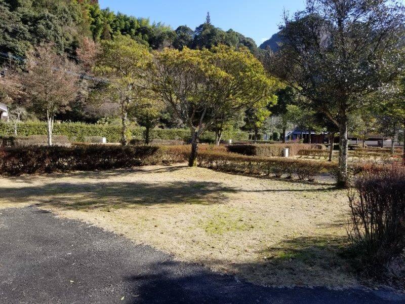 グリーンパル日向神峡 オートサイト22番