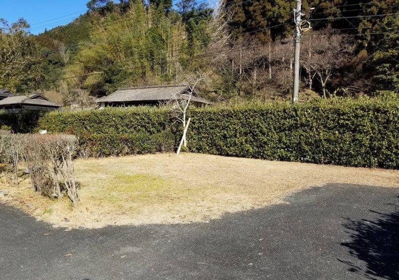 グリーンパル日向神峡 オートサイト4番