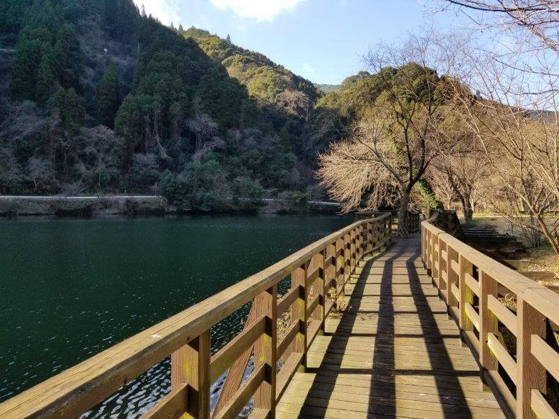 グリーンパル日向神峡 遊歩道