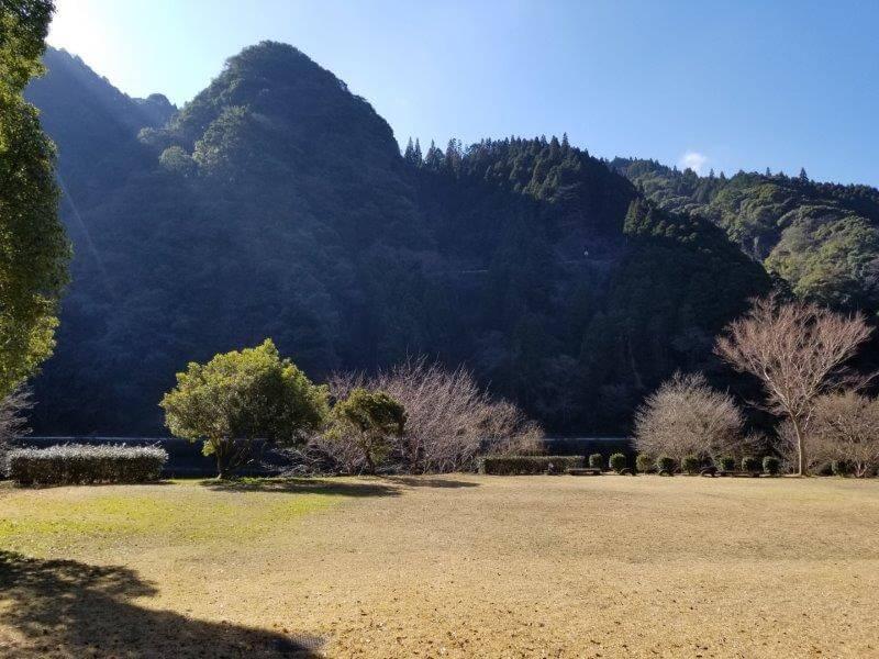 グリーンパル日向神峡 林間広場