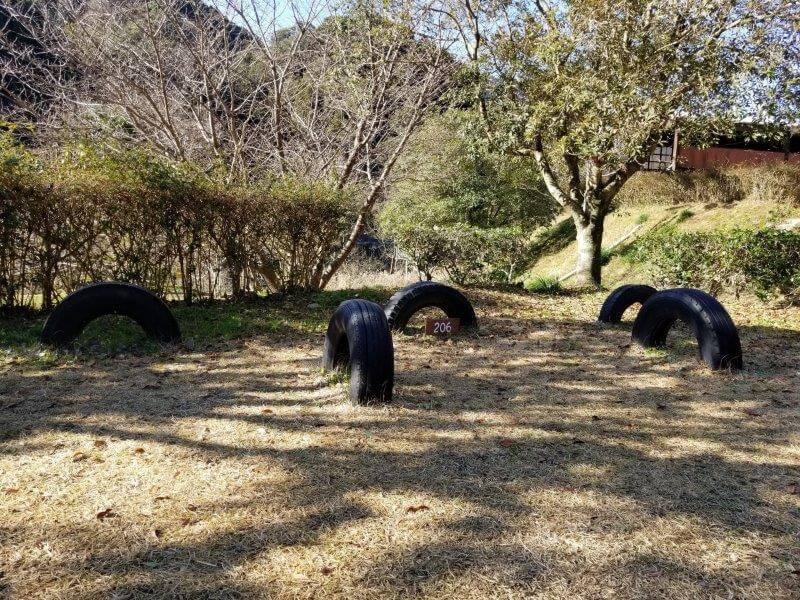 グリーンパル日向神峡 林間広場 206番