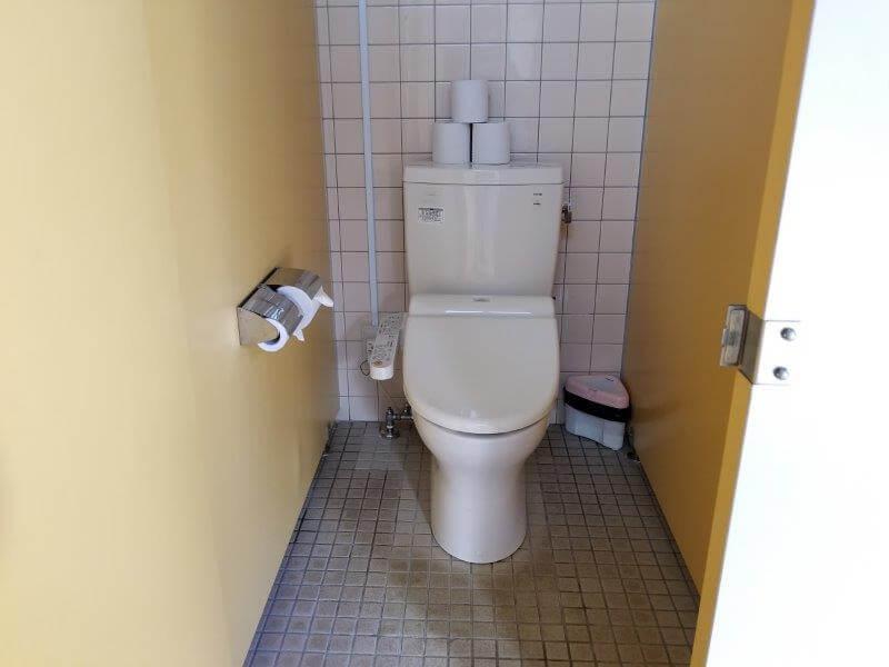 グリーンパル日向神峡 洋式トイレ