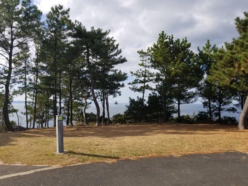 波戸岬キャンプ場オートサイトL2