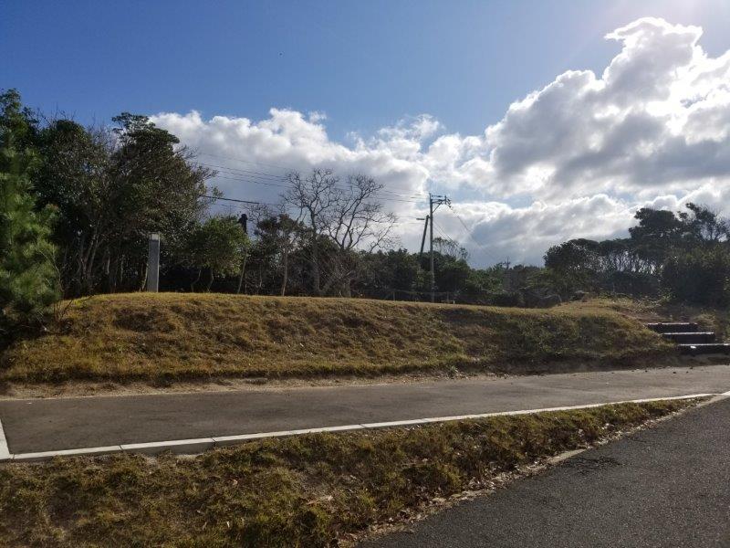波戸岬キャンプ場オートサイトL21
