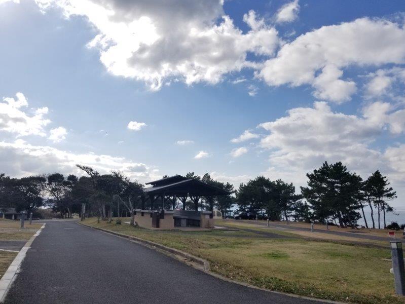 波戸岬キャンプ場オートサイトEastエリア