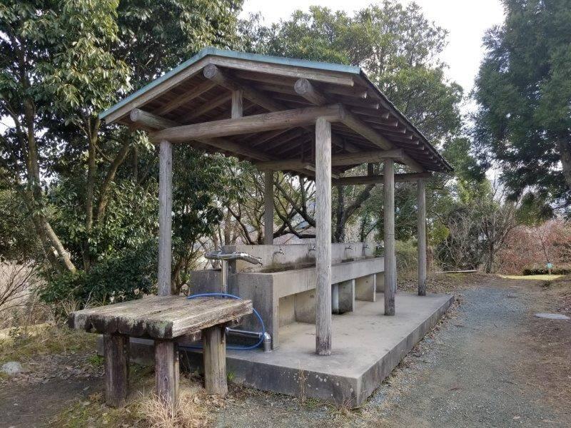 池の山キャンプ場 炊事場
