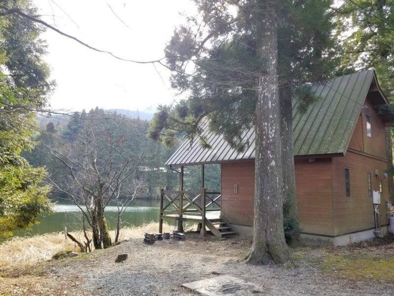 池の山キャンプ場 ロッジ なでしこ