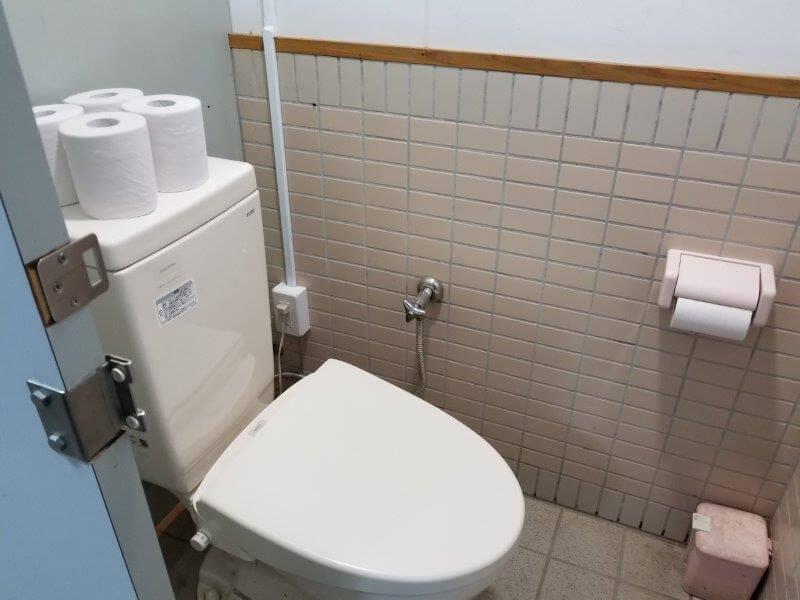 池の山キャンプ場 洋式トイレ