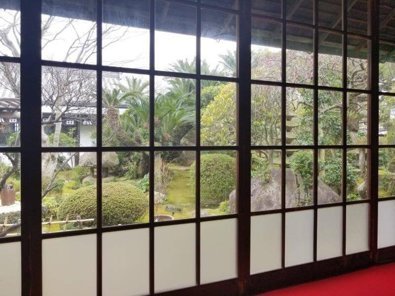 うどん本陣山田屋(香川県)日本庭園
