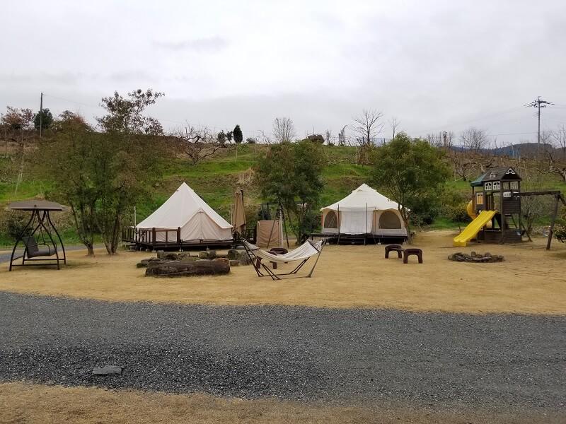 福岡県うきは市 きふねキャンプ場