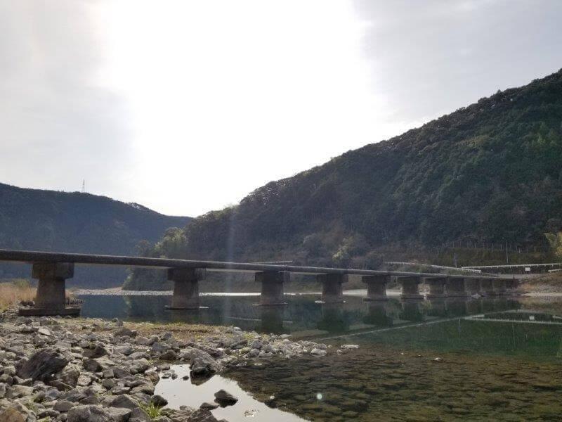片岡沈下橋