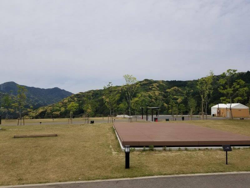 モンベル五ケ山ベースキャンプのAサイト-A1