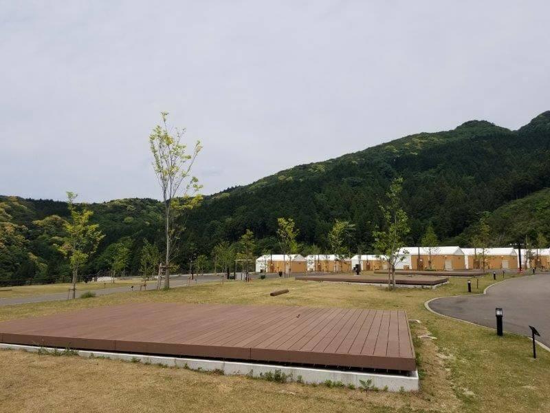 モンベル五ケ山ベースキャンプのAサイト