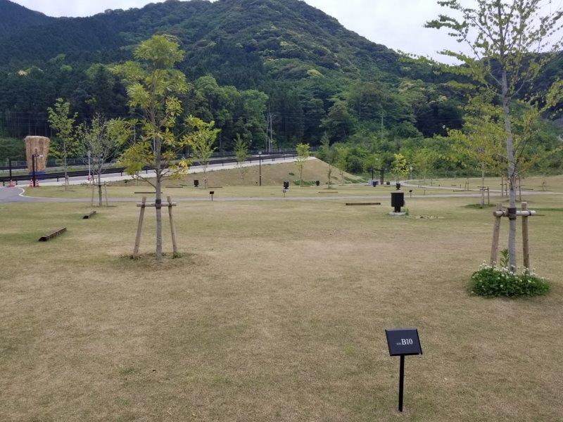 モンベル五ケ山ベースキャンプ Bサイト-B10