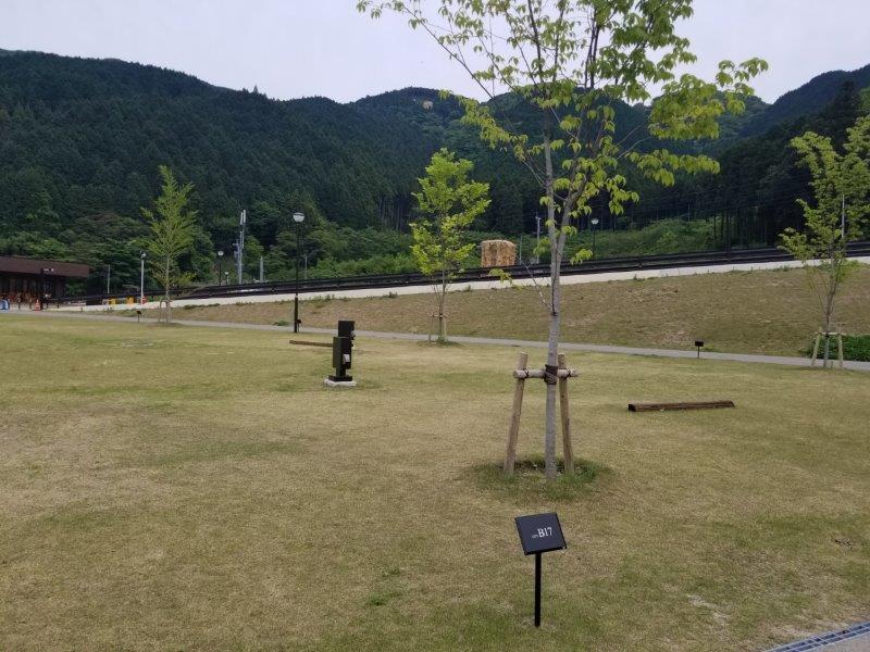モンベル五ケ山ベースキャンプ Bサイト-B17