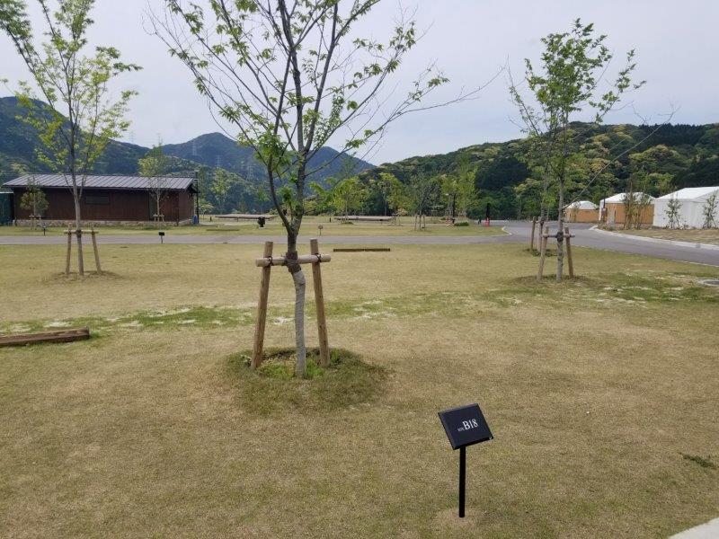 モンベル五ケ山ベースキャンプ Bサイト-B18