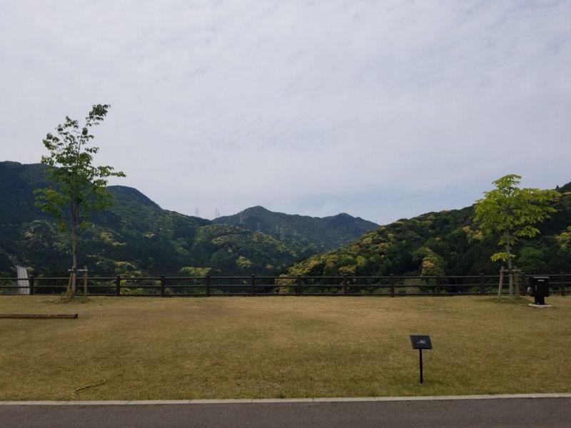 モンベル五ケ山ベースキャンプ Bサイト-B2
