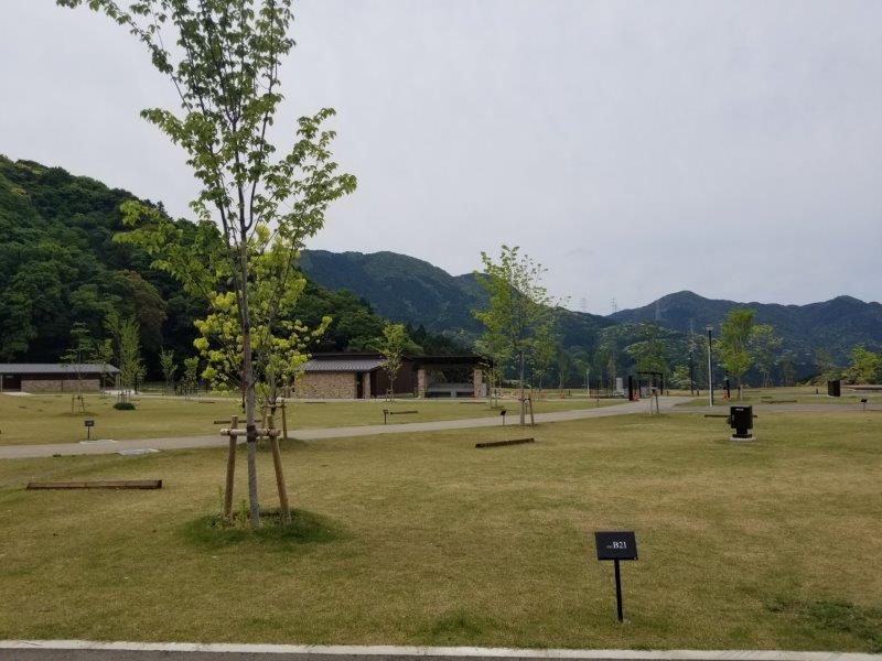 モンベル五ケ山ベースキャンプ Bサイト-B21