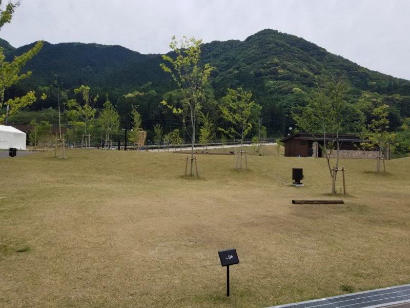モンベル五ケ山ベースキャンプ Bサイト-B6