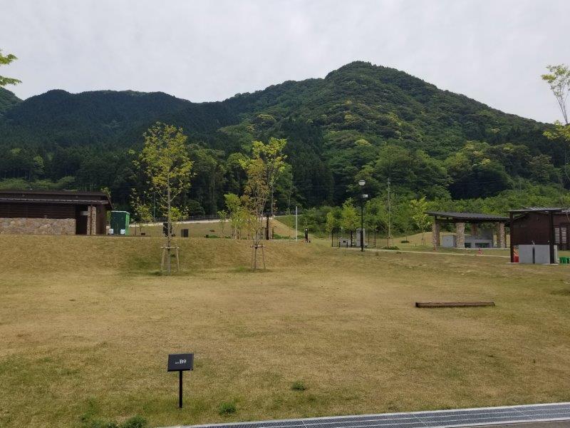 モンベル五ケ山ベースキャンプ Bサイト-B9