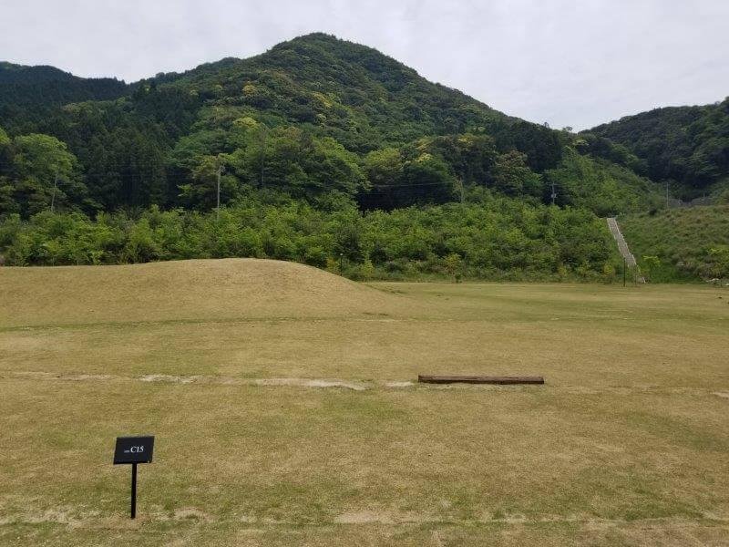 モンベル五ケ山ベースキャンプのCサイト-C15