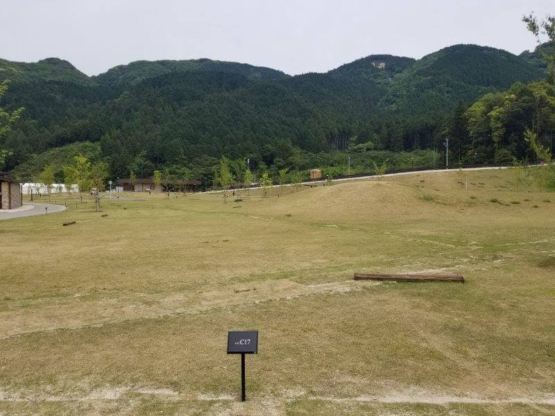 モンベル五ケ山ベースキャンプのCサイト-C17